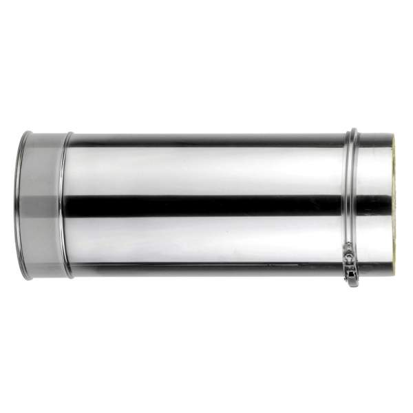 Chimenea de doble pared de 500 mm. Lineal. Para calderas de gasoil. AISI 304/304. Schutz