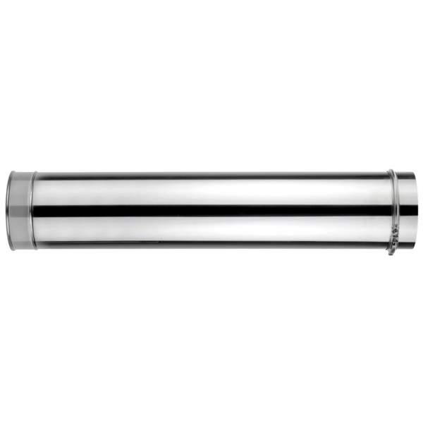 Chimenea de doble pared de 1000 mm. Lineal. Para calderas de gasoil. AISI 304/304. Schutz