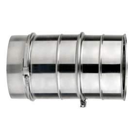 Módulo extensible de doble pared de 200 - 300 mm. Lineal. Para calderas de gasoil. AISI 304/304. Schutz
