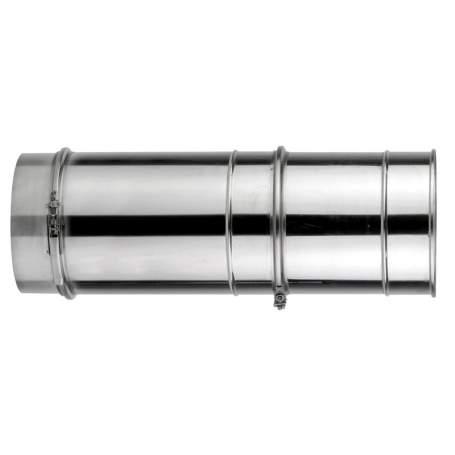 Módulo extensible de doble pared de 355 - 565 mm. Lineal. Para calderas de gasoil. AISI 304/304. Schutz