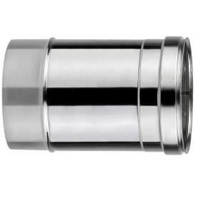 Chimenea de doble pared de 250 mm. Lineal. Para calderas de combustibles sólidos: pellet