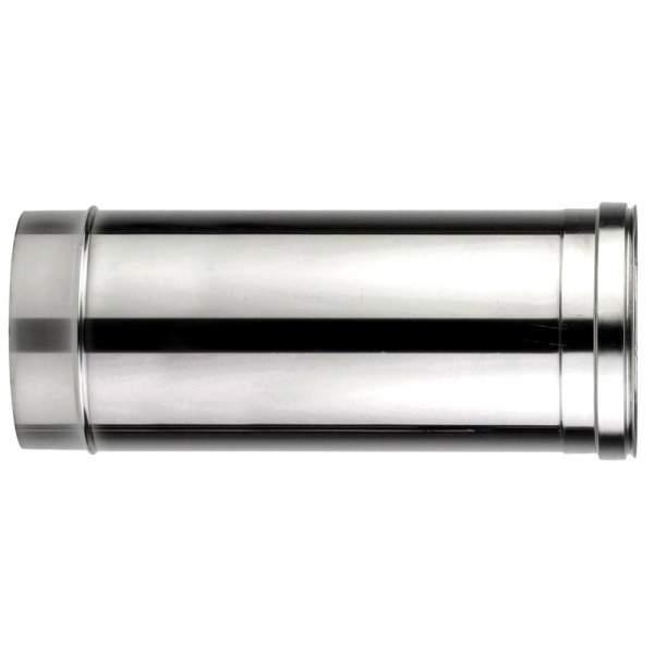 Chimenea de doble pared de 500 mm. Lineal. Para calderas de combustibles sólidos: pellet