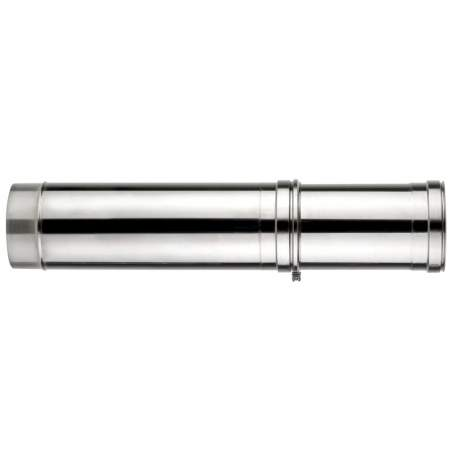 Módulo extensible doble pared 500 - 900 mm. Lineal. Para calderas de combustibles sólidos: pellet
