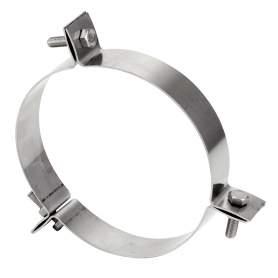 Abrazadera vientos para chimenea modular de pared doble. AISI 316/304-304/304. Schutz