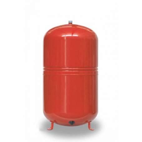 "Vaso de expansión de 50 litros con patas para calefacción. Conexión 3/4"". 50 CMF-P."
