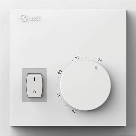 RA100 termostato ambiente mecánico BEROA ON-OFF. Orkli