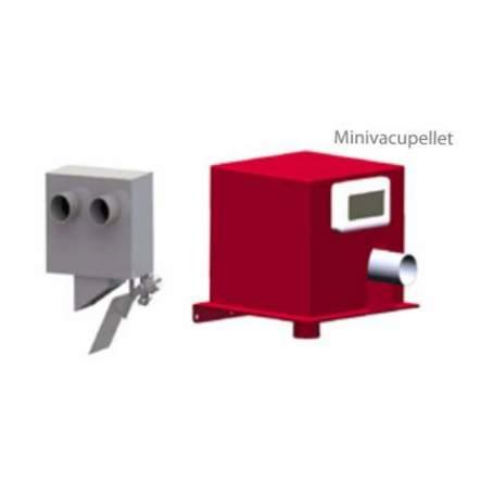 MINIVACUPELLET sistema neumático aspiración calderas de Biomasa Supersilo