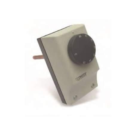 TRE-N. Termostato de inmersión simple Watts con vaina de 100 mm.