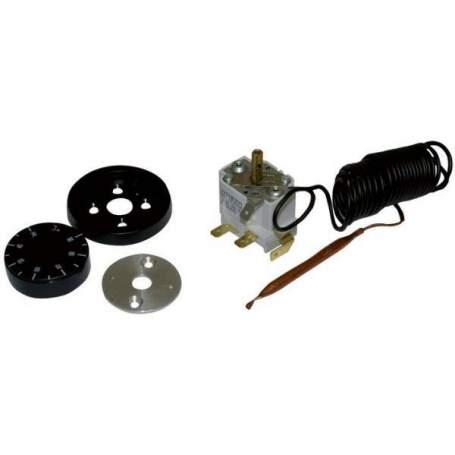 TRC 100 30-90º. Termostato capilar (contacto) 2 m separado Watts