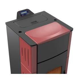 Hidroestufas de pellets agua Jima 15 kW radiadores