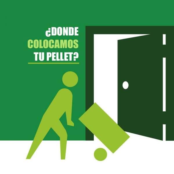 Colocación de Pellets asturias en sacos en la comunidad de Madrid