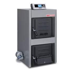 Calderas de leña Solimax 50 PLUS + control electrónico