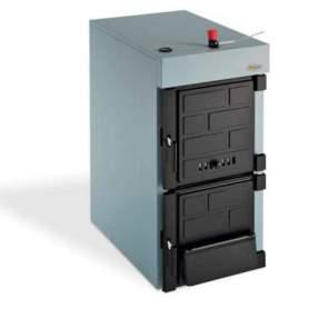 MIXTHERM 30 kW Caldera hierro fundido para leña o carbón Domusa