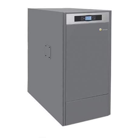Caldera de Pellets BioClass HM+DR 43 kW con depósito Domusa TBIO000086