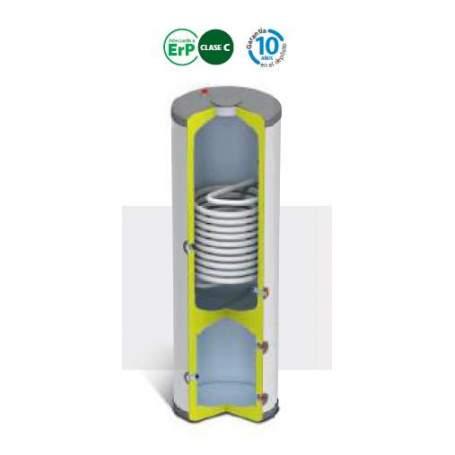 Depósitos de inercia BT TRIO 200/50 litros con acumulación. Domusa
