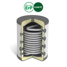 Depósitos de inercia con separador BTS 100 litros. Domusa