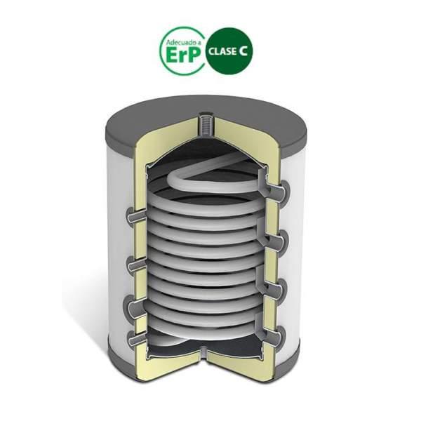 Depósitos de inercia con separador BTS 150 litros. Domusa